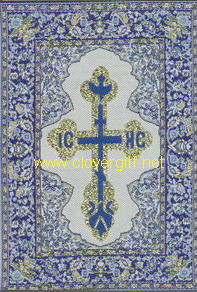 Woven Holy Cards Post Cards Catholic Orthodox Religious